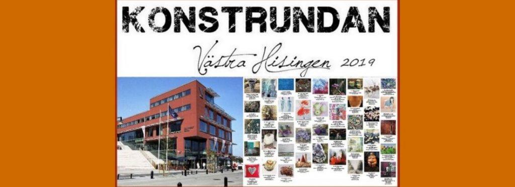 Konstrundan på Västra Hisingen 13-15 sept 2019